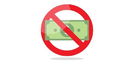 「IPO抽選に資金不要」を表すマーク